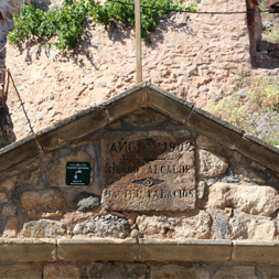 Placa Casa de piedra
